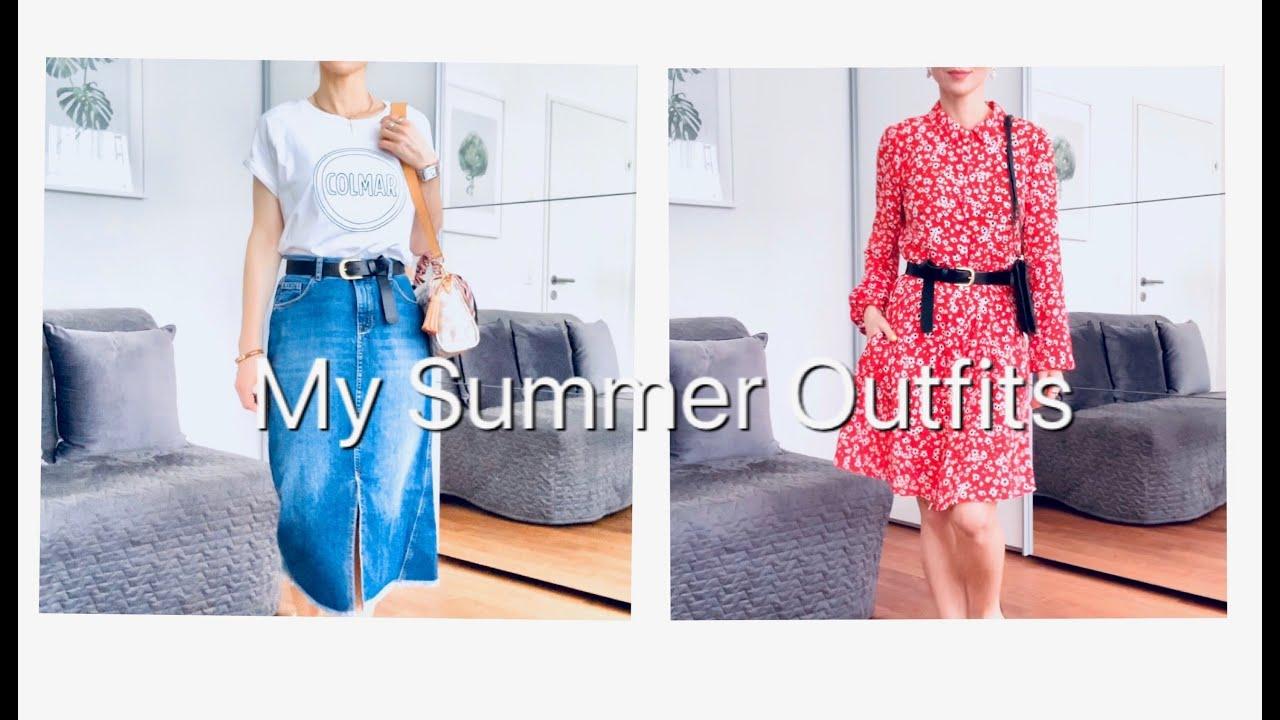 [VIDEO] - My Summer Outfits | Мои Летние Образы | NataRyna 1