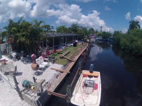 New Dock Construction - Angler's Inn Motel Matlacha, Florida
