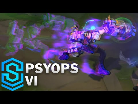 PsyOps Vi Skin Spotlight - League of Legends