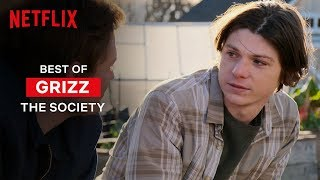Best Grizz Moments from The Society | Netflix