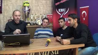 EBU MEDYA 10. ZİGANA FUTBOL TURNUVASI    4. HAFTA ÖN GİRİŞ VİDEOSU