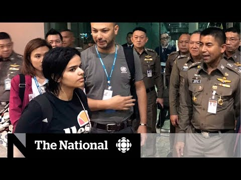 Canada grants asylum to Saudi teen fleeing alleged abuse