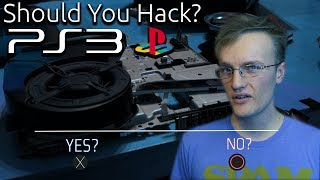 Should You Hack Your PS3?