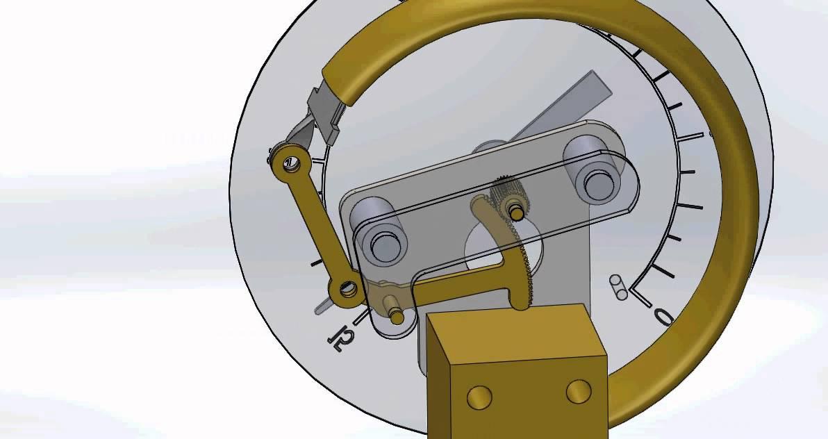How Does a Bourdon Pressure Gauge Work