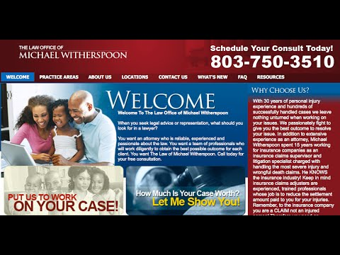 Personal Injury Attorney Columbia SC | (803) 750-3510 | Michael Witherspoon