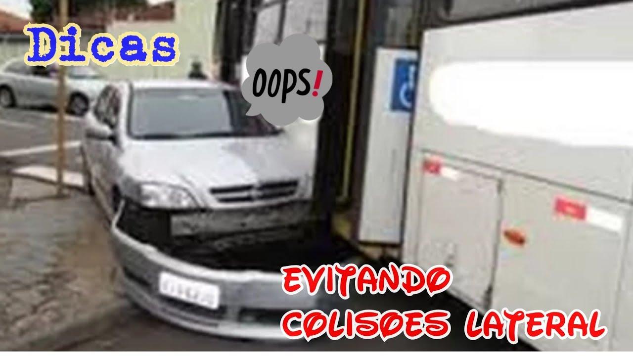 Dicas para motoristas de ônibus ( conversão a direita)