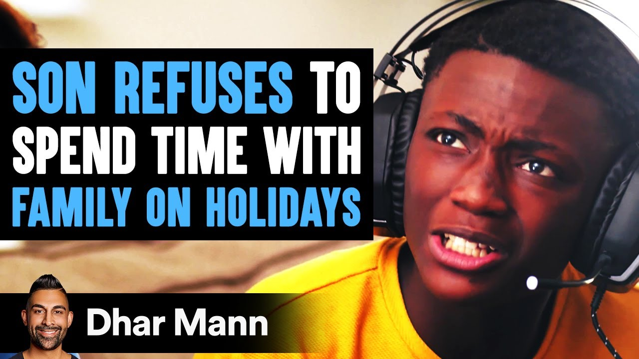 Son Refuses To Spend Time With Family On Holidays, He Instantly Regrets It | Dhar Mann