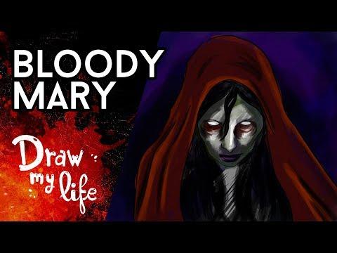 La LEYENDA de BLOODY MARY - Draw My Life en Español