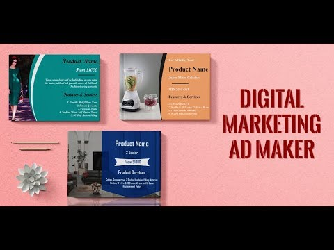 ad maker graphic creator digital marketing tool google play のアプリ