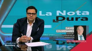 Nadie me va a decir qué hacer, a quién castigar o a quién exonerar: David Colmenares