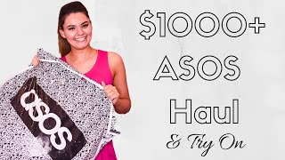 Huge $1000 Asos Haul   Asos Try On Haul