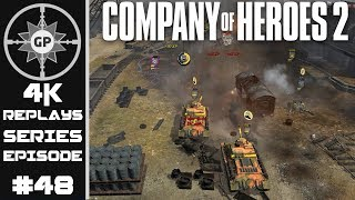 Company of Heroes 2 4K Replays #48 - The Strike That Turned The Tide