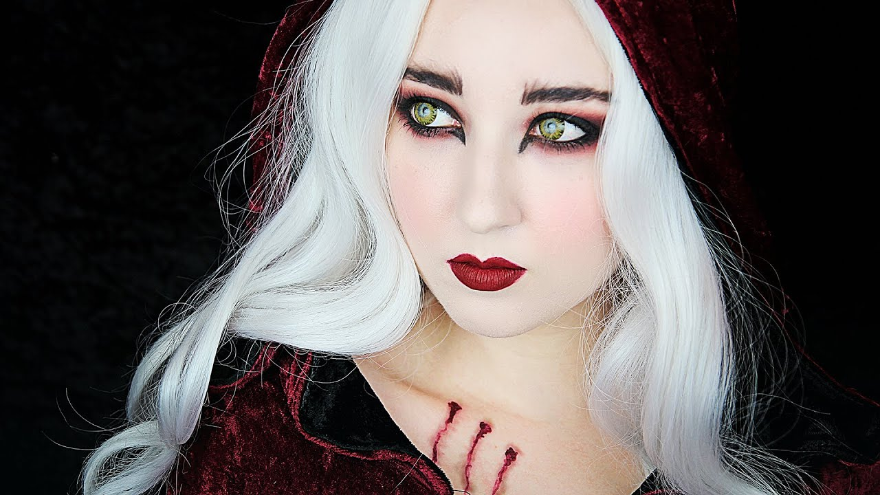 Little Red Riding Hood Werewolf Makeup Tutorial Youtube