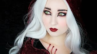 Little Red Riding Hood WEREWOLF Makeup Tutorial