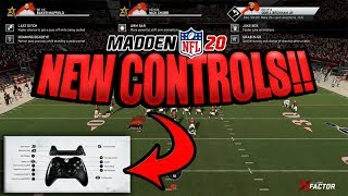 NEW CONTROLS! Madden 20 Gameplay and Presentation New Details