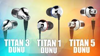 Dunu Titan - лучшие затычки до 9000р