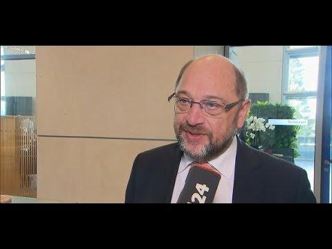 """Martin Schulz: """"Ausloten, inwieweit es Sinn macht, miteinander zu reden"""""""
