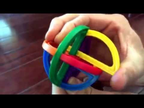 Chuck E Cheese Puzzle Ball How To Take Apart And Put Back Together One Piece Is The Key