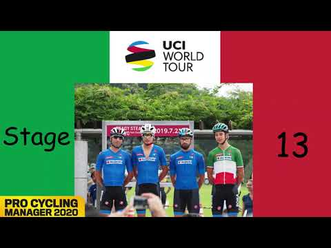Bob Jungels the Goat? | UCI World Tour #13 | Pro Cycling Manager 2020 |