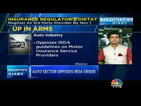 Rattled Auto Dealers Write To IRDA To Relax 3rd Party Insurance Norms