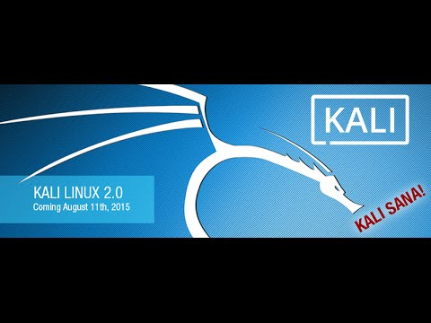 Kali Linux 2.0 and Hacking Tools Full Review 1080p