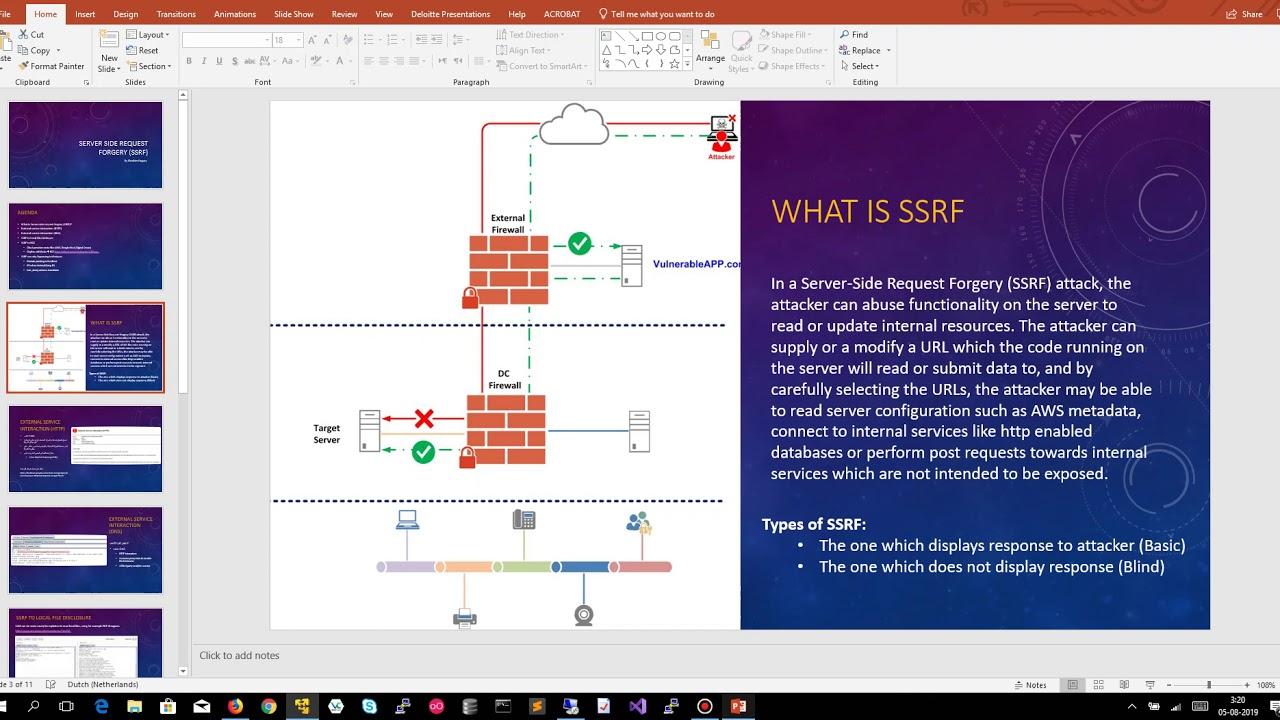 40 - شرح ثغرات Server-Side Request Forgery (SSRF)
