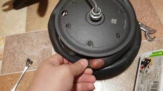 Elektr scooter bo'yicha g'ildirak va kamerani ta'mirlash tahlil XIaomi MIJIA M365