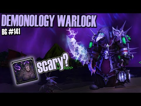 ????DEMO TYRANT DOMINATES! - Demonology Warlock PvP [BFA] BG140