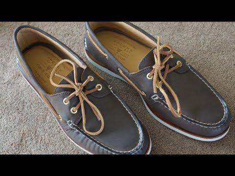 bc6840a308d1 Sperry Gold Cup Top Sider Boat Shoes - The Best? - YouTube