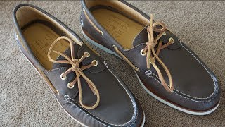 Sperry Gold Cup Top Sider Boat Shoes - The Best?