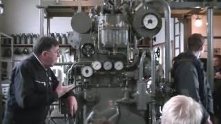 U-Boot Diesel im Maschinenmuseum Kiel