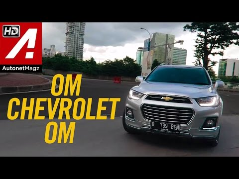 Review Chevrolet Captiva facelift test drive by AutonetMagz