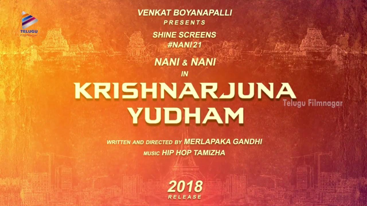 Image result for krishnarjuna yuddham nani