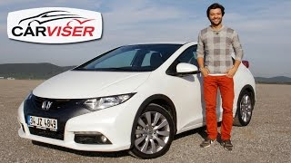 Honda Civic Hatchback Test Sr Review English subtitled