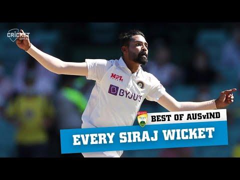Best of the Border-Gavaskar: Every Mohammed Siraj wicket | Vodafone Test Series 2020-21