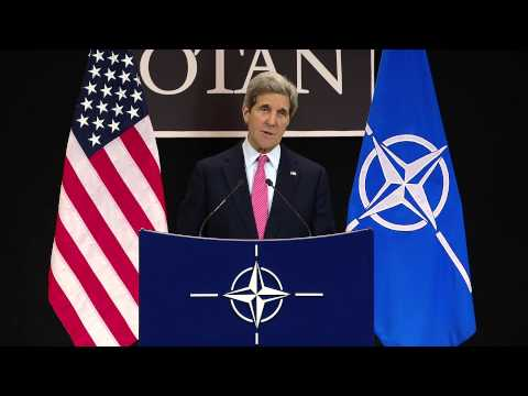 Secretary Kerry Delivers Remarks After the NATO Ministerial