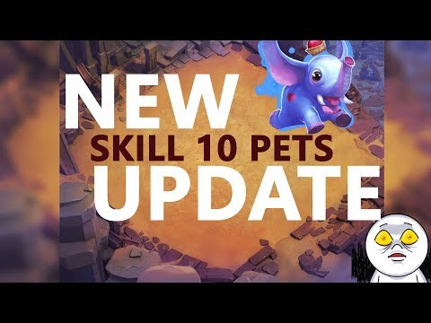 Arid Ruins Map | Pets New Skill Level 10 | UPDATE INFO | Castle Clash