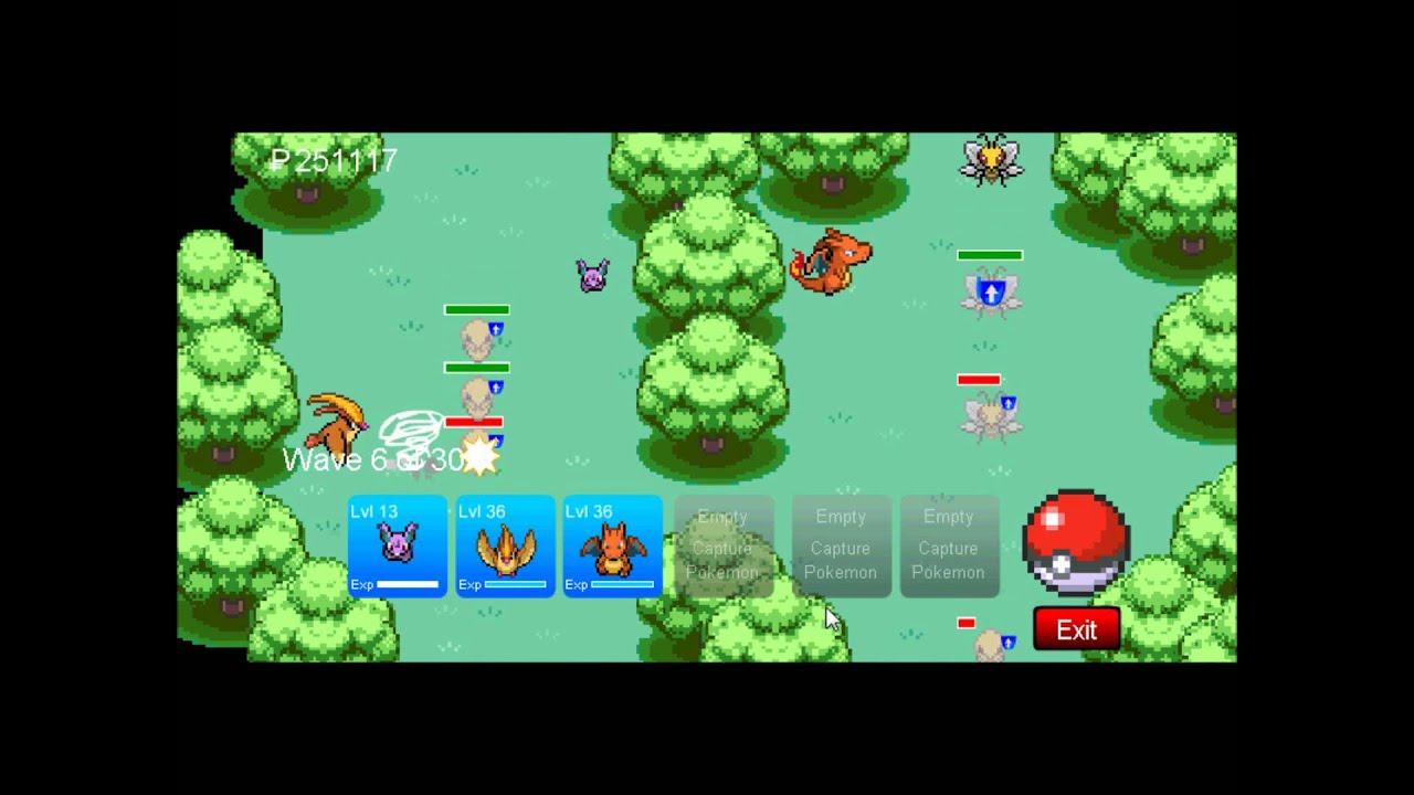 Pokemon Tower Defense Hacked Version Youtube