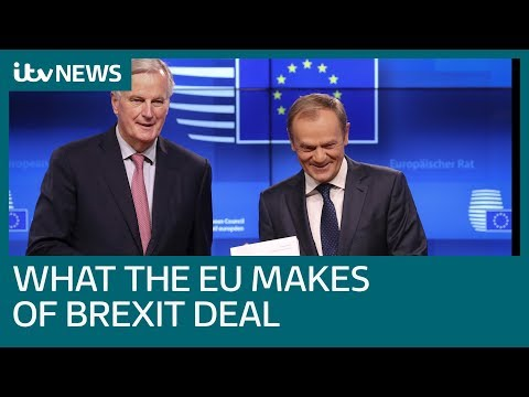 EU negotiators on how Westminster reacted to draft Brexit deal   ITV News