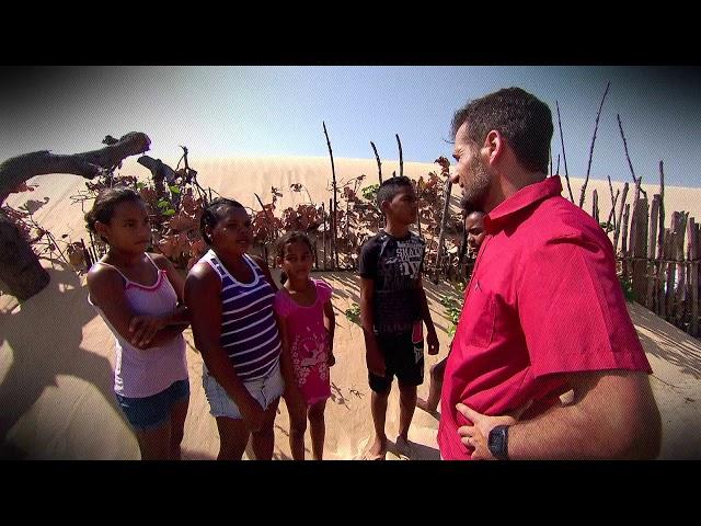 Câmera Record mostra como os nômades vivem no deserto brasileiro