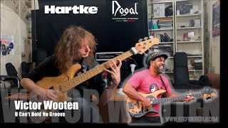 Victor Wooten-U Can't Hold No Groove Bass Cover