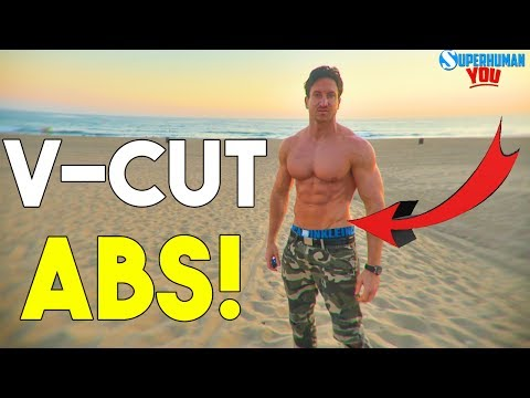 Get The V-LINES!   Top 7 Exercises For V-CUT ABS  