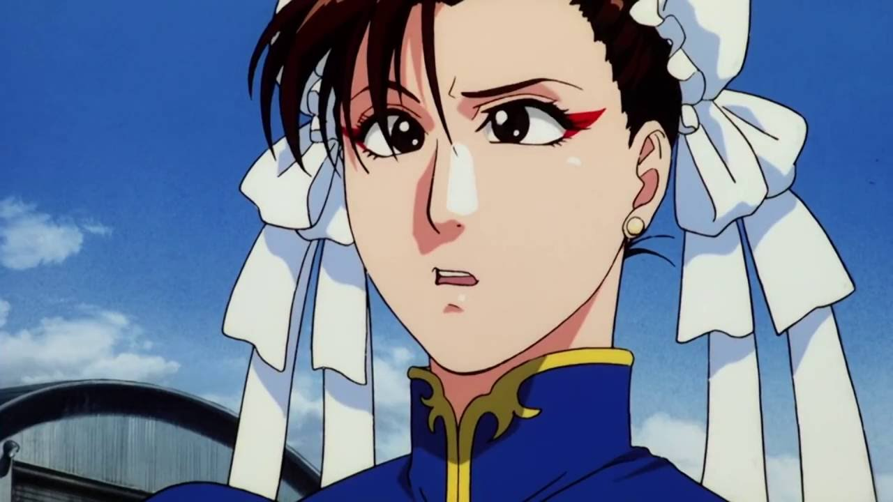 Street Fighter Anime Chun Li Shower Scene