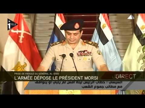 Egypte : le général Al-Sissi écarte Mohamed Morsi du pouvoir