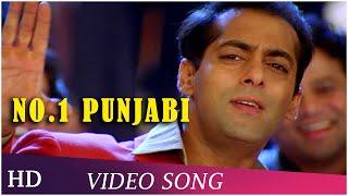 No. 1 Punjabi | Chori Chori Chupke Chupke (2001) Song | Salman Khan | Rani Mukherjee