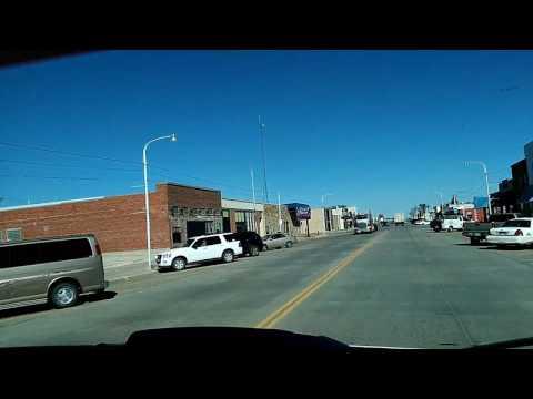 Small town. Western Kansas
