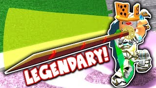 I GOT THE *BEST* LEGENDARY SWORD in SWORDBURST 2!! *LEVEL 100!* (Roblox)