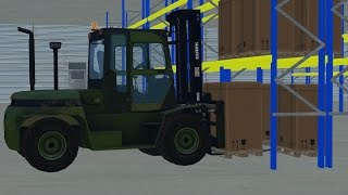 FS15: Loading Trucks At The Logistics Center