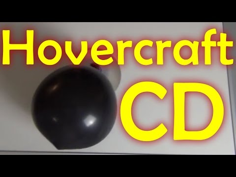 Easy Hovercraft out of CD or DVD - Let's Do Science!