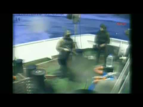 Israeli marines boarded American ship with Uzi submachine guns intent on killing aid workers